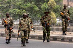 nigerian-soldiers jtf road
