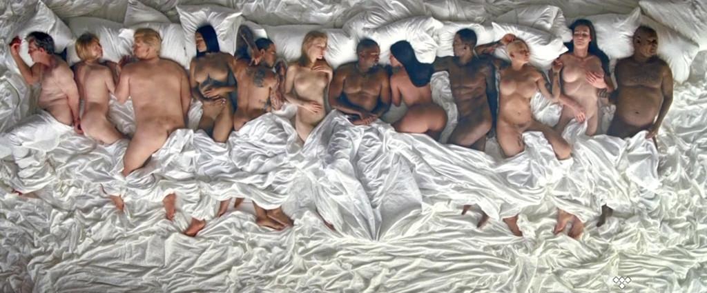 Kanye Famous Visual