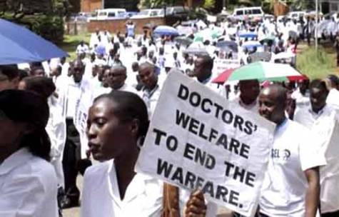 Striking Resident Doctors