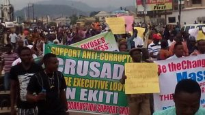 anti fayose protest