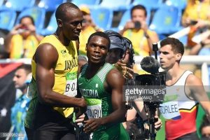 Ejowvokoghene-Oduduru-and-Usain-Bolt