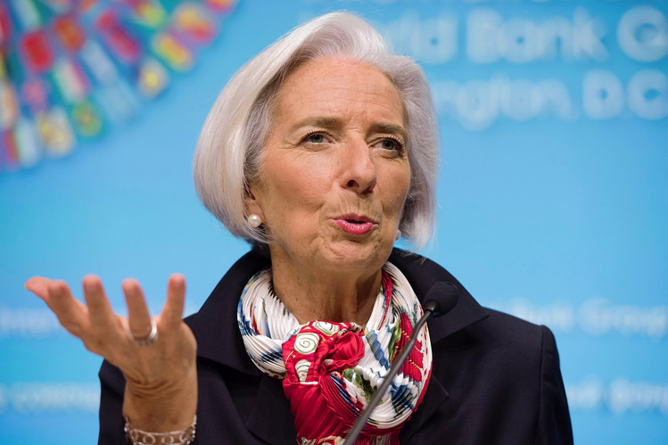 Christine Largade, IMF boss