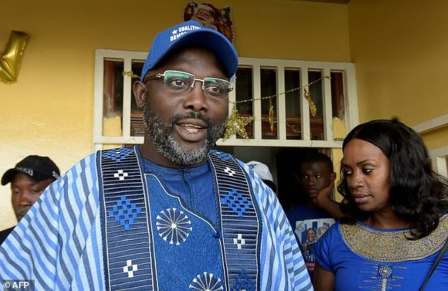 President elect George Weah congratulated by PDP
