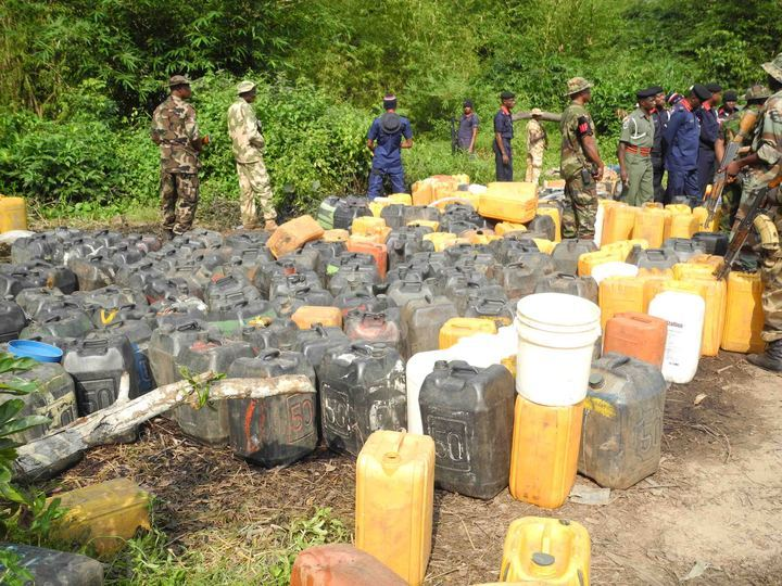 Pipeline vandals rounded-up by JTF