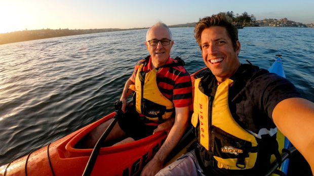Turnbull with lifejacket in October but with non in December