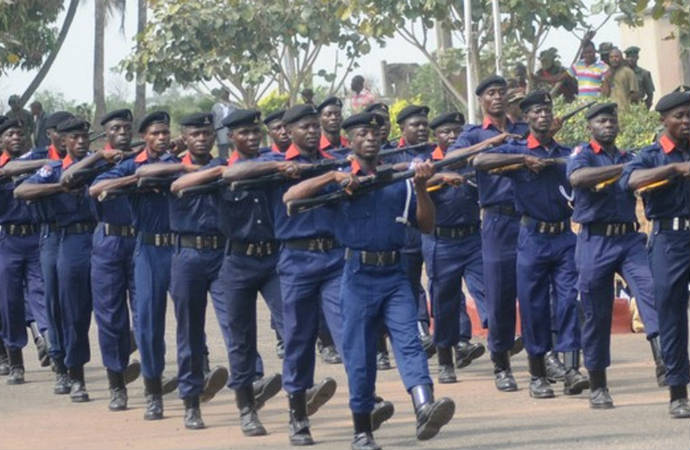 NSCDC arrests grandma for burning grand daughter's hand over plate of food