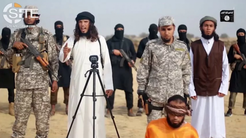 A still from a video released by ISIS offshoot in Egypt. Source: SITE Intelligence Group