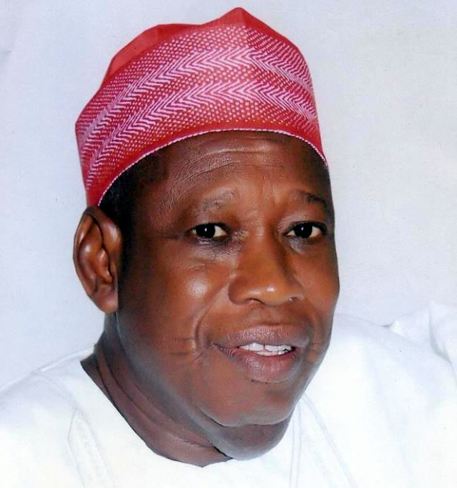 Abdullahi Ganduje, Kano State Governor