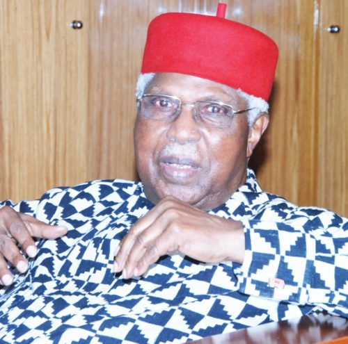 Late first Vice President of Nigeria Dr Alex Ekwueme
