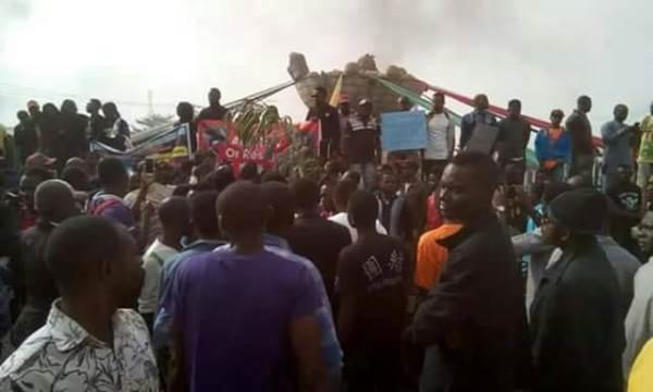 Youth in Benue protest killing of kinsmen