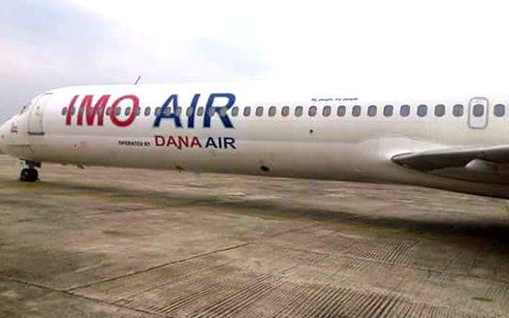Dana Air, operators of Imo Air