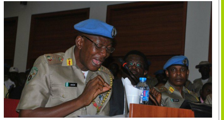 Dickon Akor, Peace Corps Commandant call for patience with President Buhari