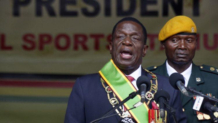 New President of Zimbabwe Emerson Mnangawa narrates perilous escape from Mugabe after sack