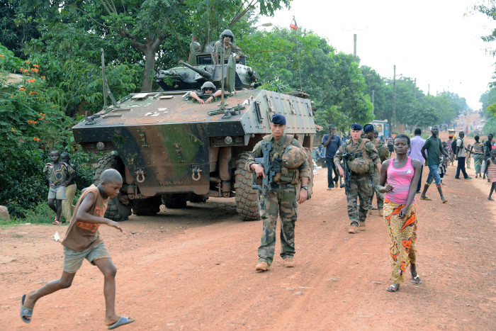 French Soldiers in Central African Republic