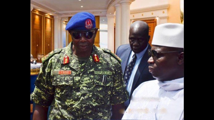 Gambia's ex-leader Yahya Jammeh's top military men arrested