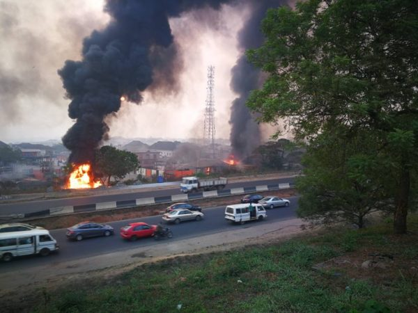 Gas explosion in Lagos claims 4
