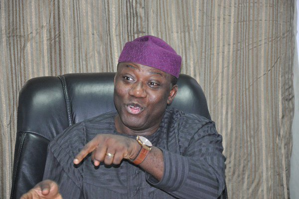 Kayode Fayemi. Minister of mines and Steel Development