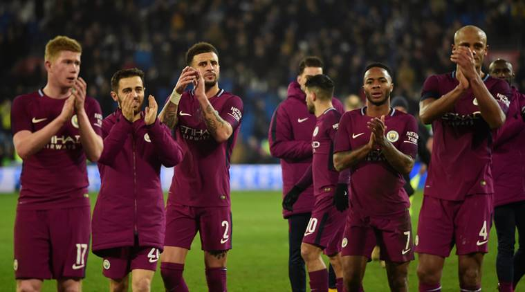 Manchester City breeze past Cardiff