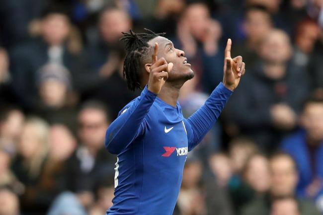 Michy Batshuayi scored a first-half brace against Newcastle