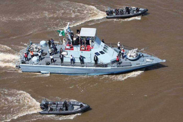 Nigerian Navy in action