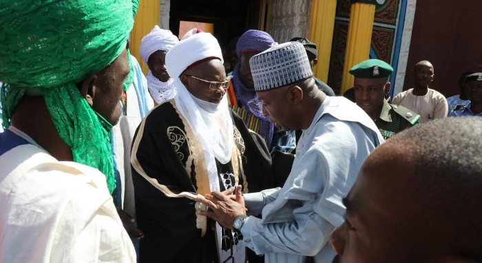 Saraki with the Emir of Katsina