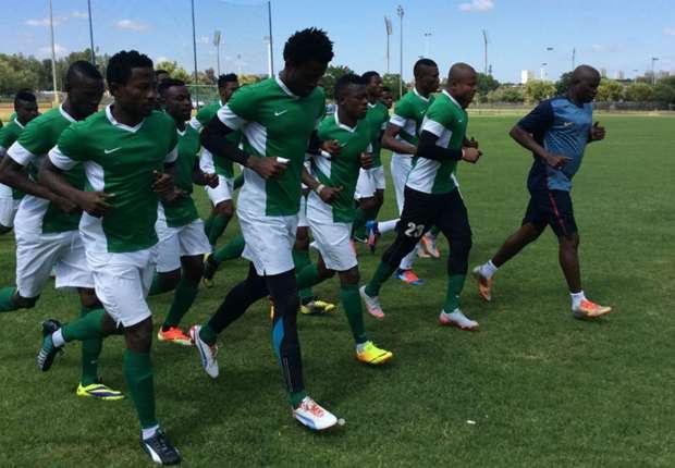 Nigeria Super Eagles training
