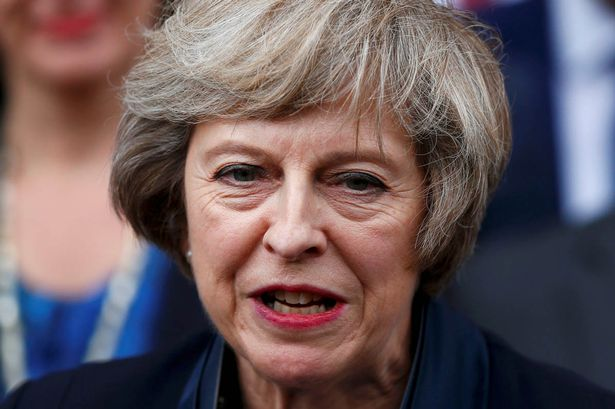 Theresa May: Facing an uphill task to keep her position