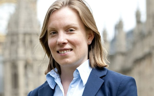 Britain's newly appointed  minister of loneliness, Tracey Crouch