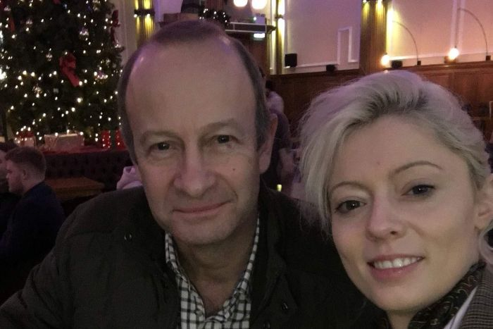 UKIP leader Henry Bolton in a bar with his girlfriend Jo Marney, before the split