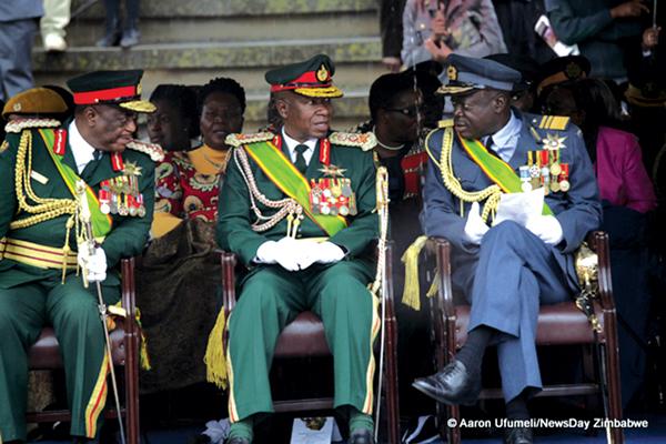 Zimbabwe's service chiefs