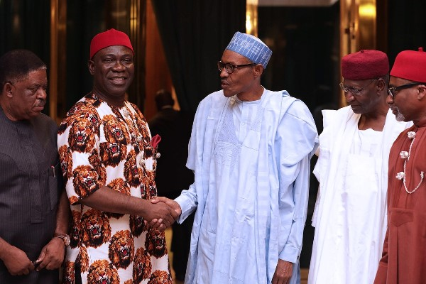 Ekweremadu and President Buhari